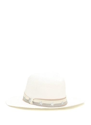 Ferruccio Vecchi Şapka Beyaz